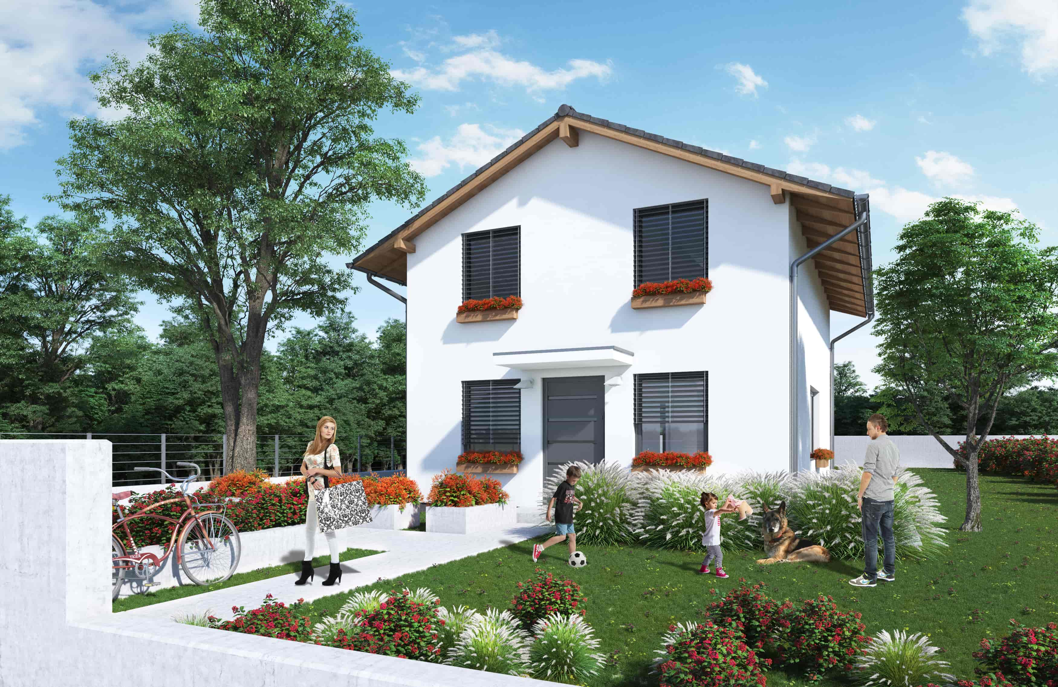 Dotácia na dvojpodlažný dom