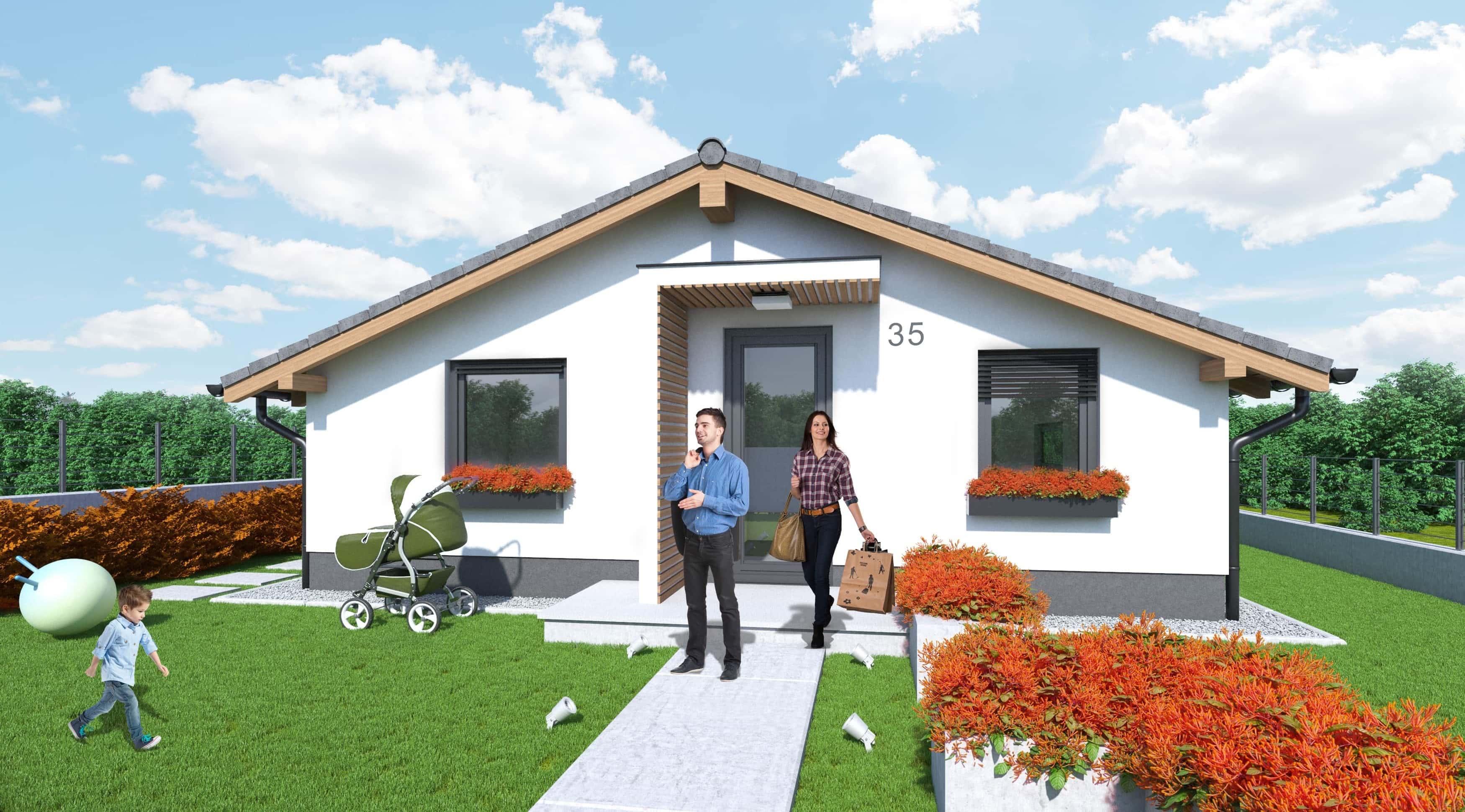 Dotácia na jednopodlažný dom